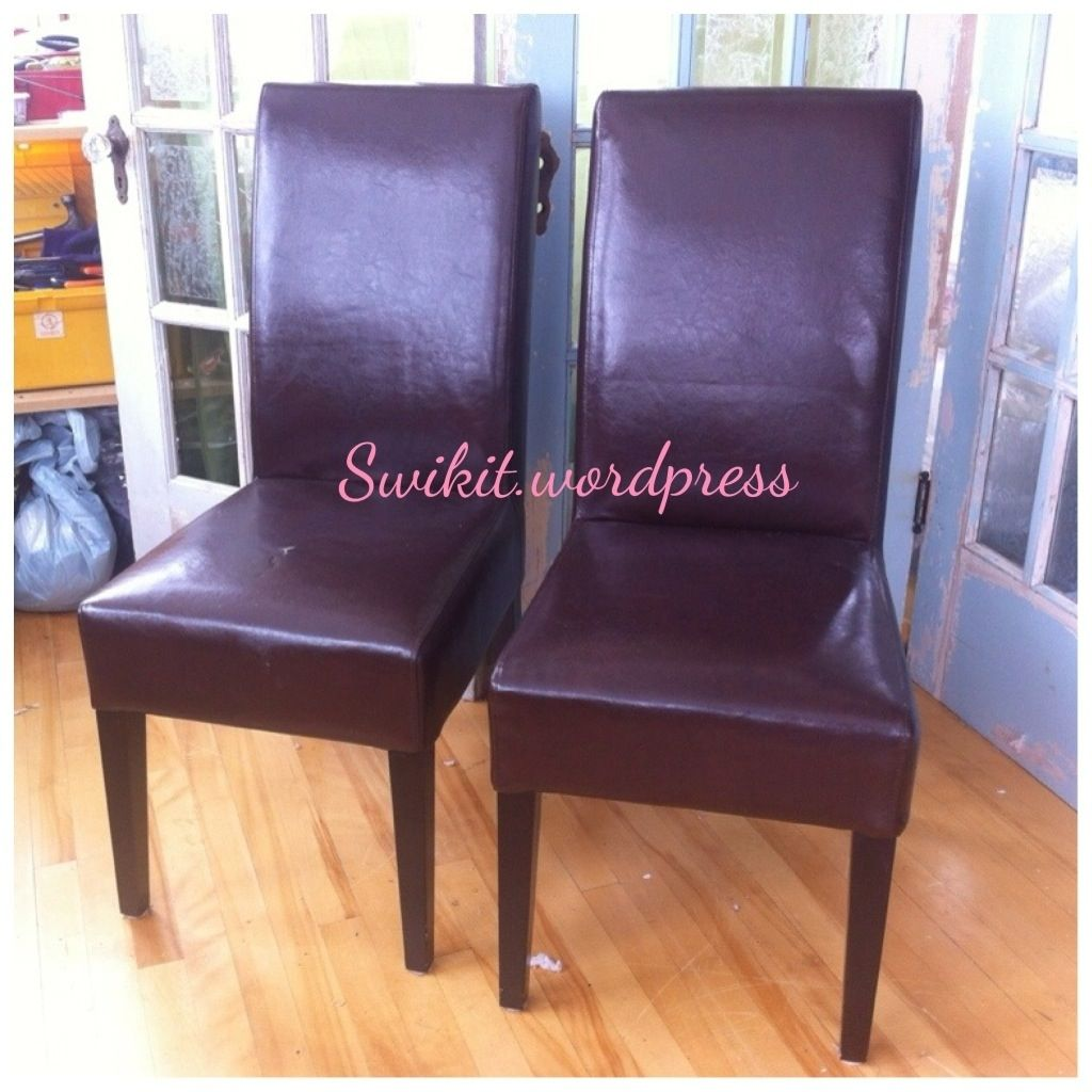 Recover Leather Kitchen Chairs