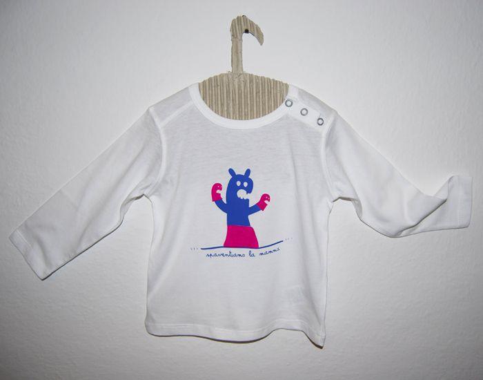 T-shirt Spaventiamo la mamma  bonkiettina - by letizia chianello