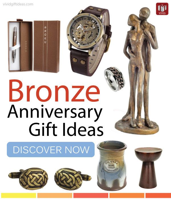 Top Bronze Anniversary Gift Ideas For Men Bronze Anniversary Gifts Bronze Anniversary Mens Anniversary Gifts