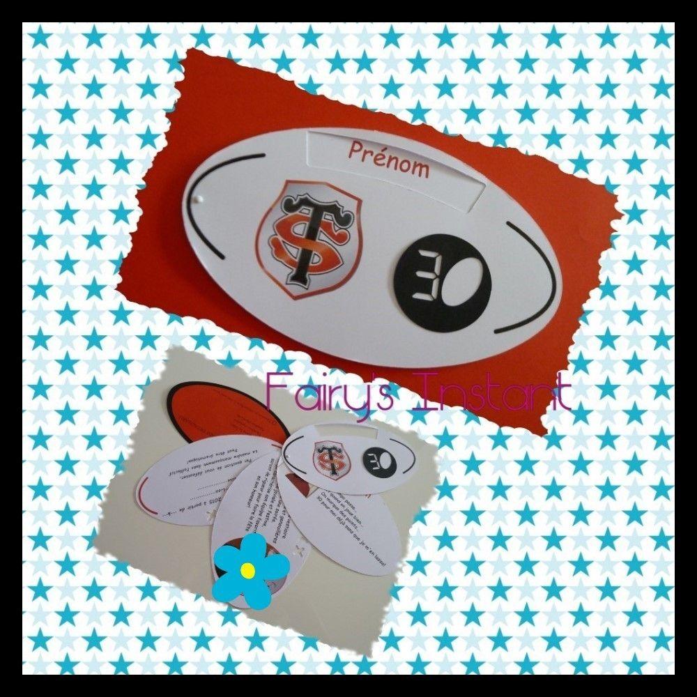 Carte Anniversaire Rugby Carte Anniversaire Carte Anniversaire