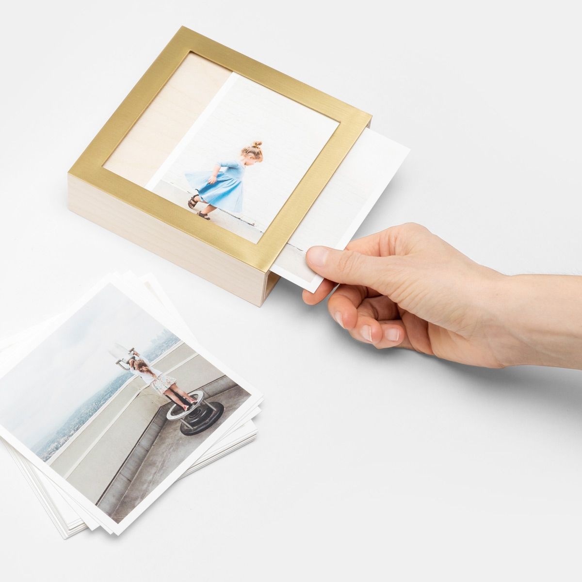 Brass Wood Photo Print Display Box Display Boxes Wood Display