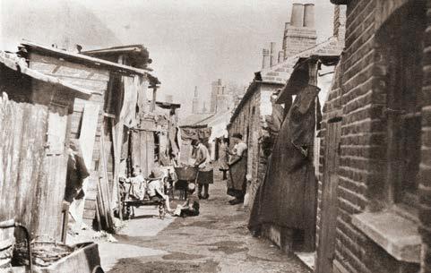 Slum Housing In 1930s Britain England Britain Tenement