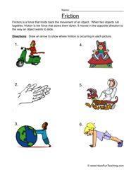 friction worksheet 1 in the classroom science worksheets free kindergarten worksheets. Black Bedroom Furniture Sets. Home Design Ideas