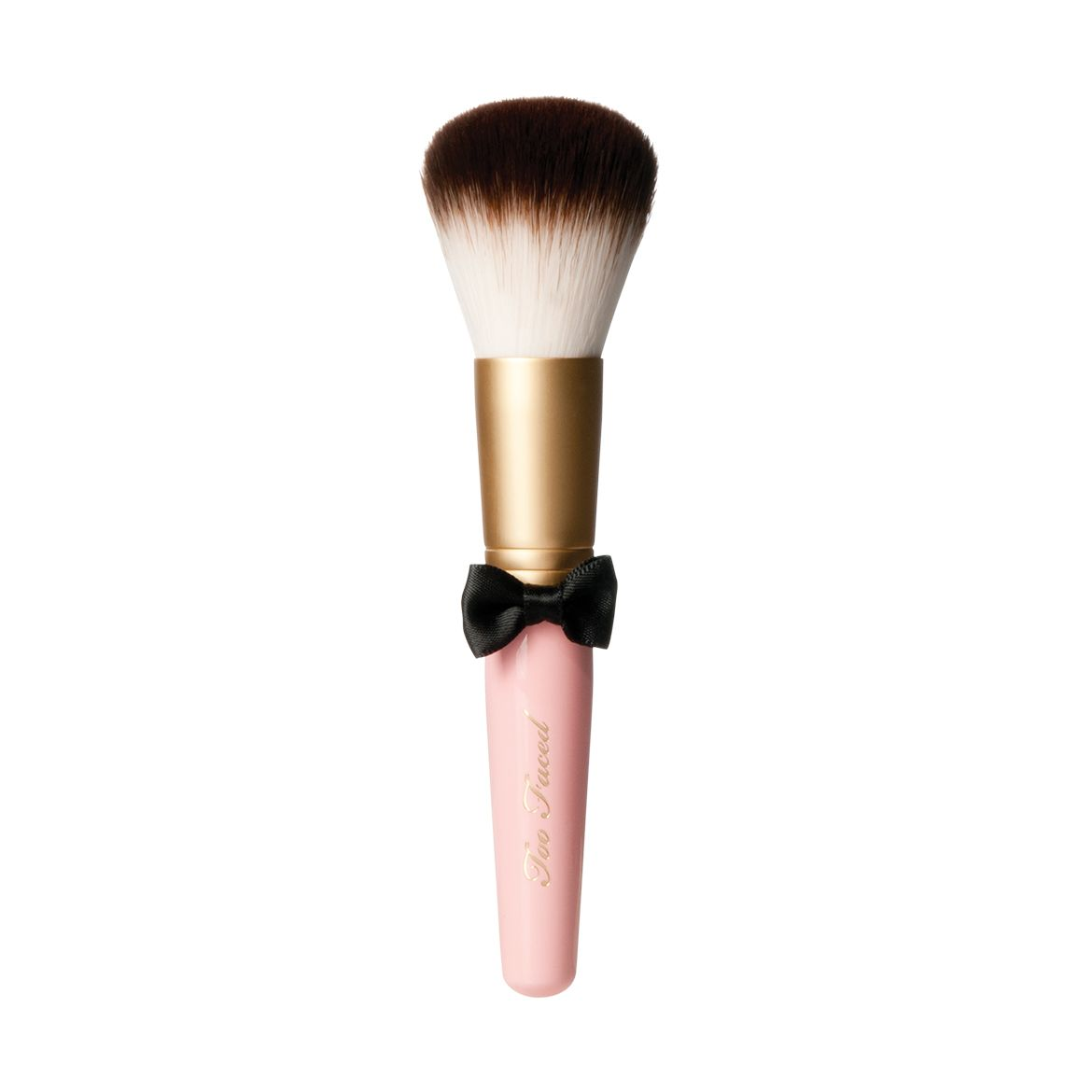 too faced kabuki brush. powder pouf brush - too faced kabuki