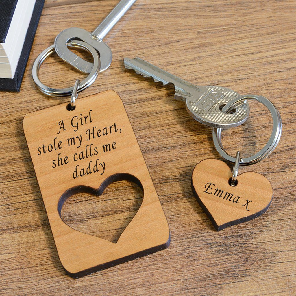 Cherrywood Great Grandad Keyring for Valentines Day Birthday Fathers Day Christmas Gift