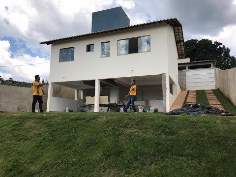Lote 360 m² acidentado / casa 3 quartos sendo 1 suite / sob pilotis / garagem coberta / lavanderia - YouTube
