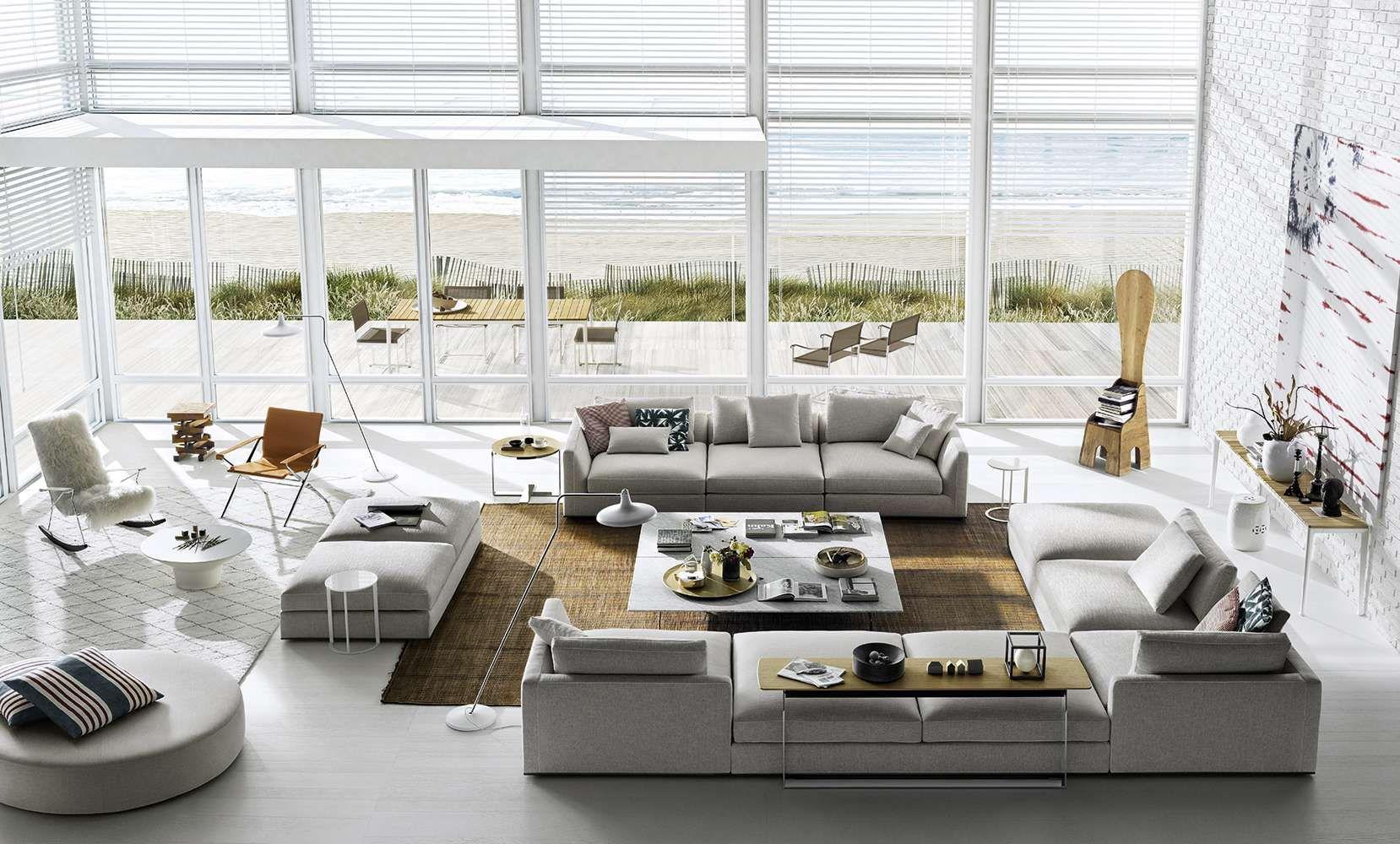 Sofa Richard B B Italia Design Of Antonio Citterio With Images Italian Furniture Modern Interior Design Furniture Italian Furniture Brands