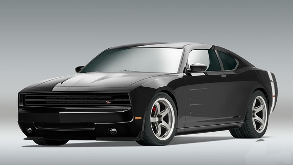 Dodge Doesn't Build a Two-Door Charger, But Someone Else Did