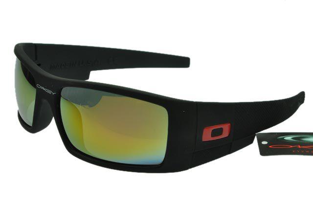 Oakley 5969 Sunglasses Black Frame Gold/Lightblue Lens #sunglasses