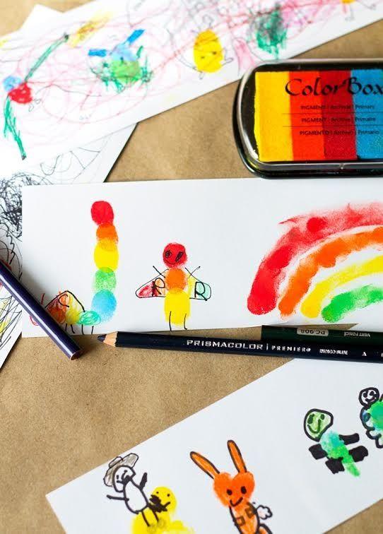 Нетрадиционные техники рисования. Рисуем пальчиками  Можно рисовать и пальчиками, оставляя разноцветные отпечатки на бумаге.  Материалы: 1.Пальчиковые краски 2.Бумага 3.Карандаш/Фломастер 4.Баночка для воды