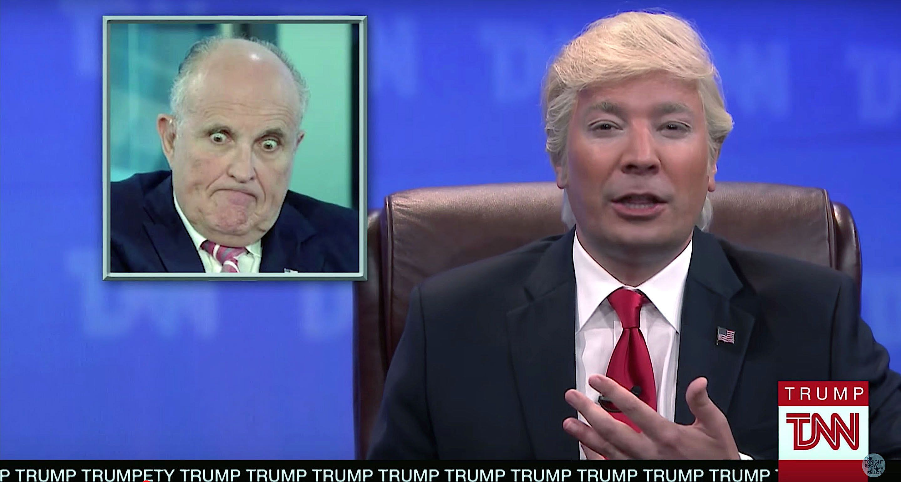 Jimmy Fallon Uncovers The Meaning Of Rudy Giuliani S Mystery Tweet Jimmy Fallon Rudy Giuliani Mystery