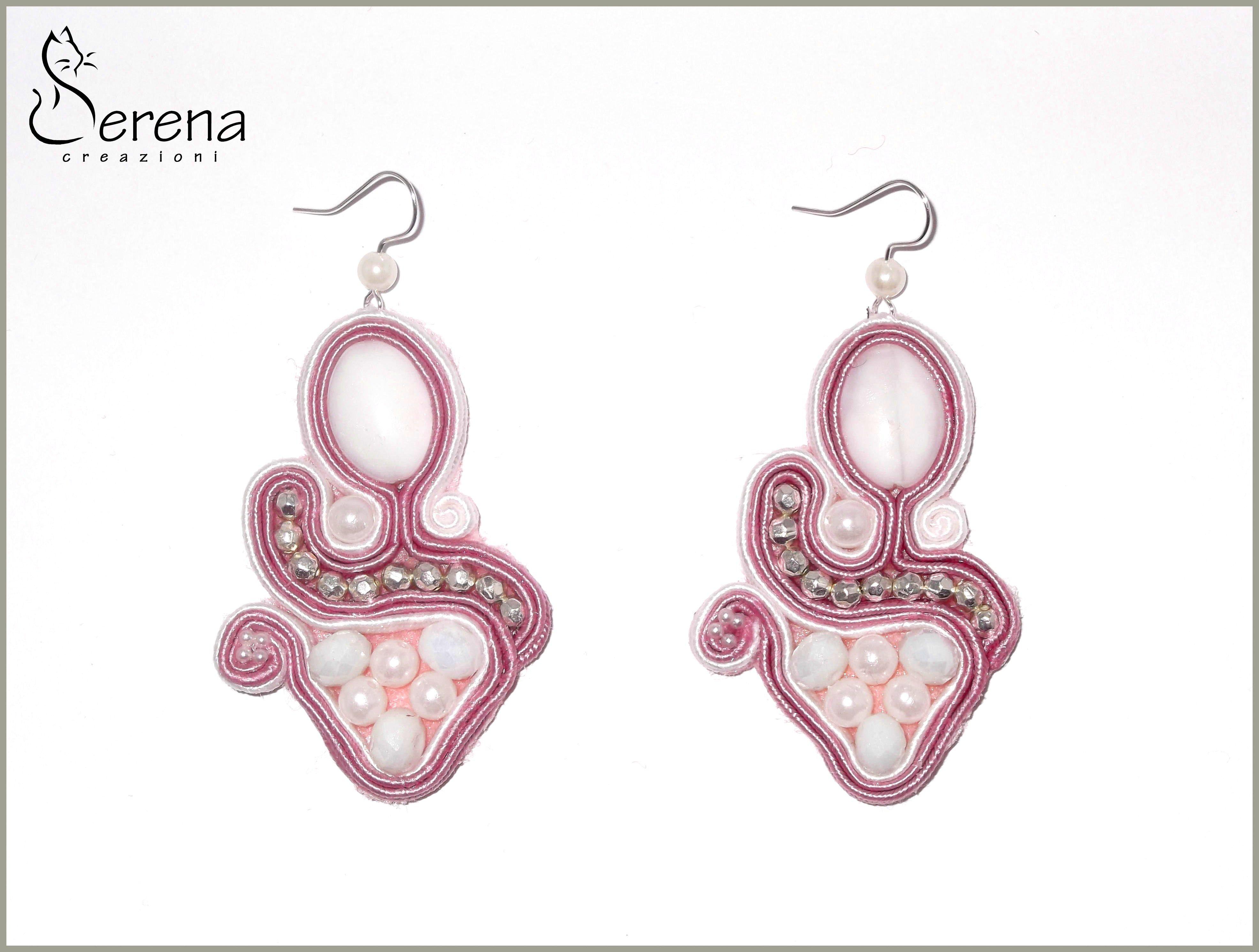 Eleganti e particolari orecchini fatti a mano...ecco i nuovi earrings soutache nati in casa Serena Creazioni!