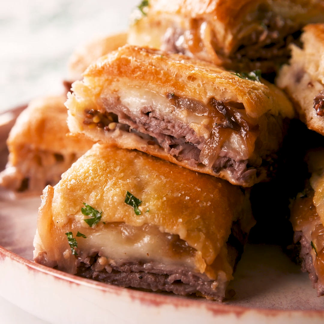 French Dip Squares