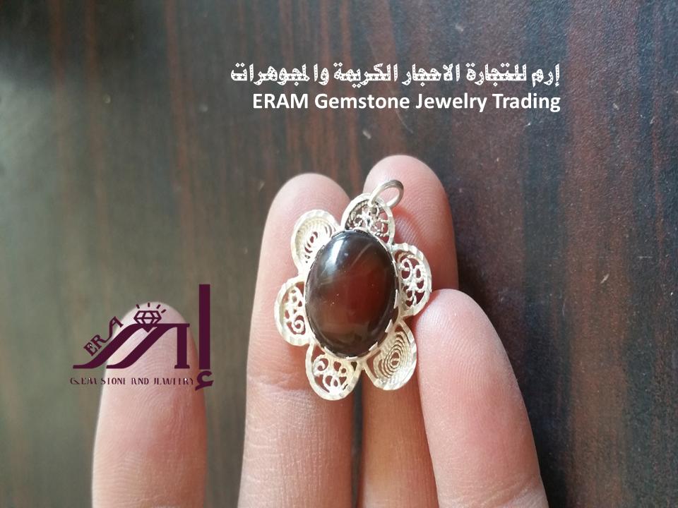 قلادة نسائي عقيق يمني احمر كبدي طبيعي 100 Onyx Agate Gemstone Jewelry Gemstones Gemstone Rings