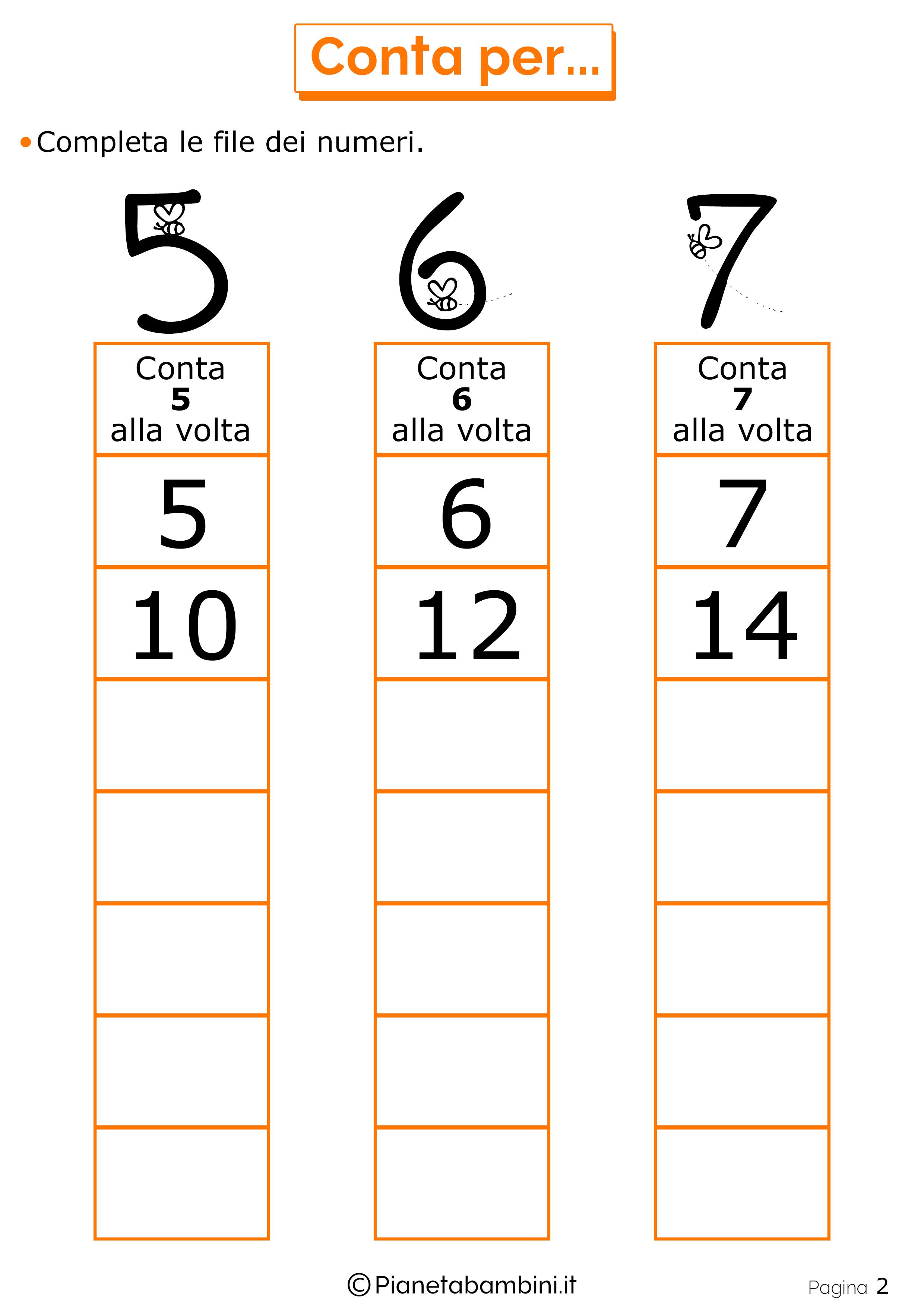 Top Qui trovate tanti giochi di matematica per bambini di 6-7 anni che  FY39