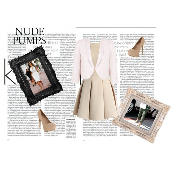 Kardashians And Pumps by unicornslifeever on Polyvore featuring Chicwish, Monsoon, Office and nudepumps
