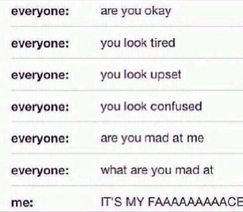 me when I'm in a bad mood at school lol so trueeee.