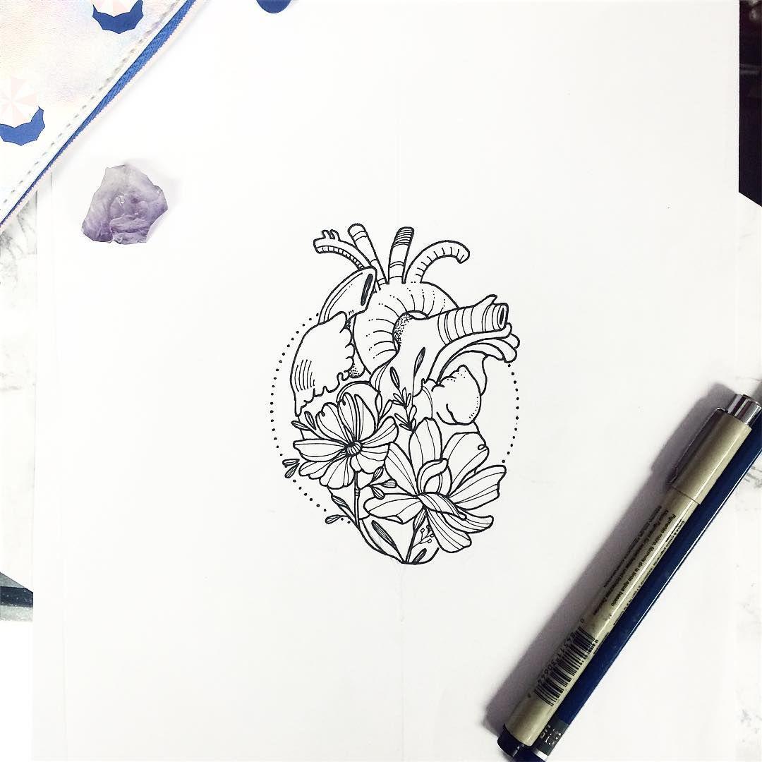 See this Instagram photo by @nathalybonilla • heart anatomy botany ...