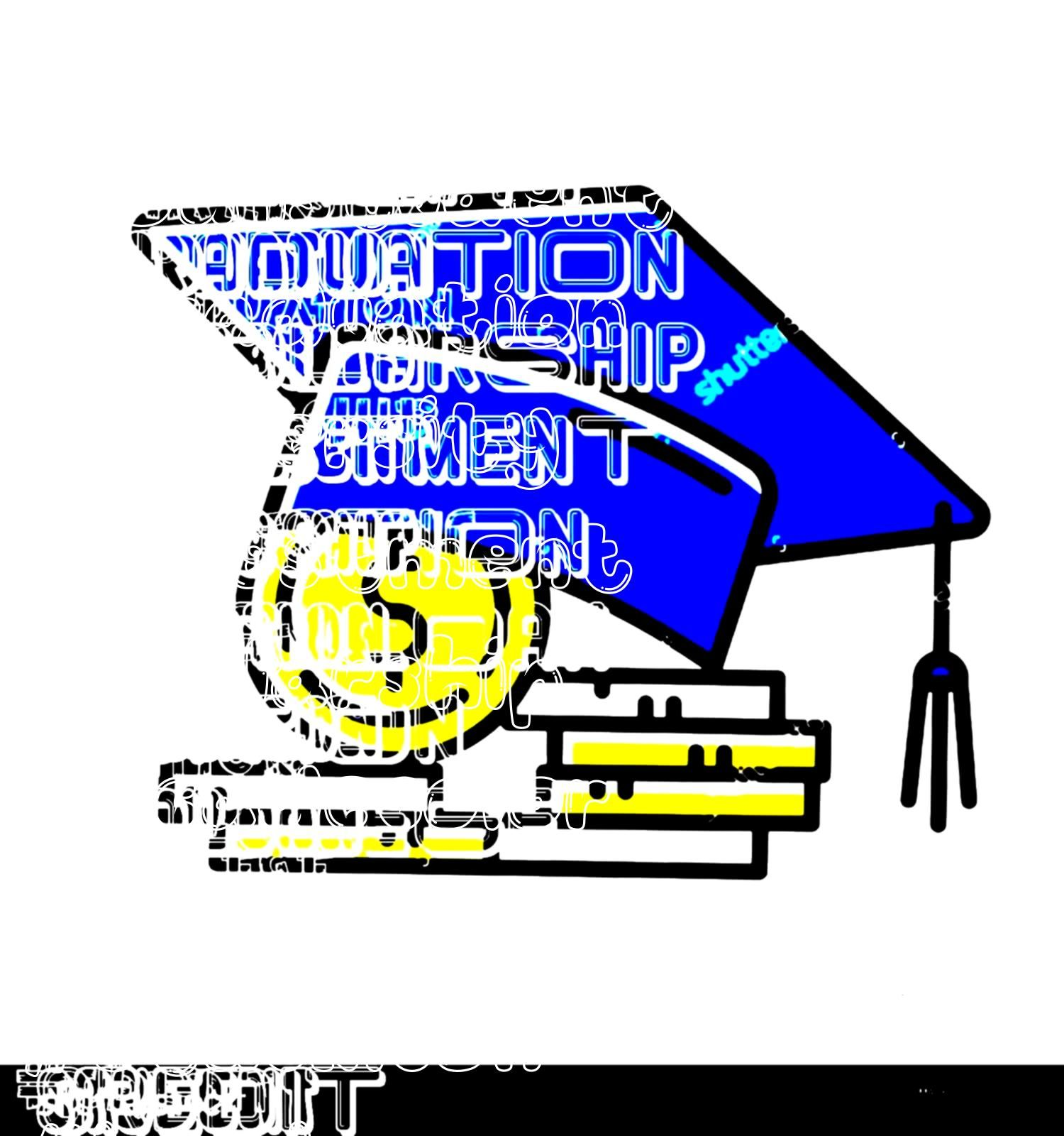 pay for university education Tuition fee Co Student loan color icon Credit to pay for university education Tuition fee College scolarship Graduation hat coin stack Budget...