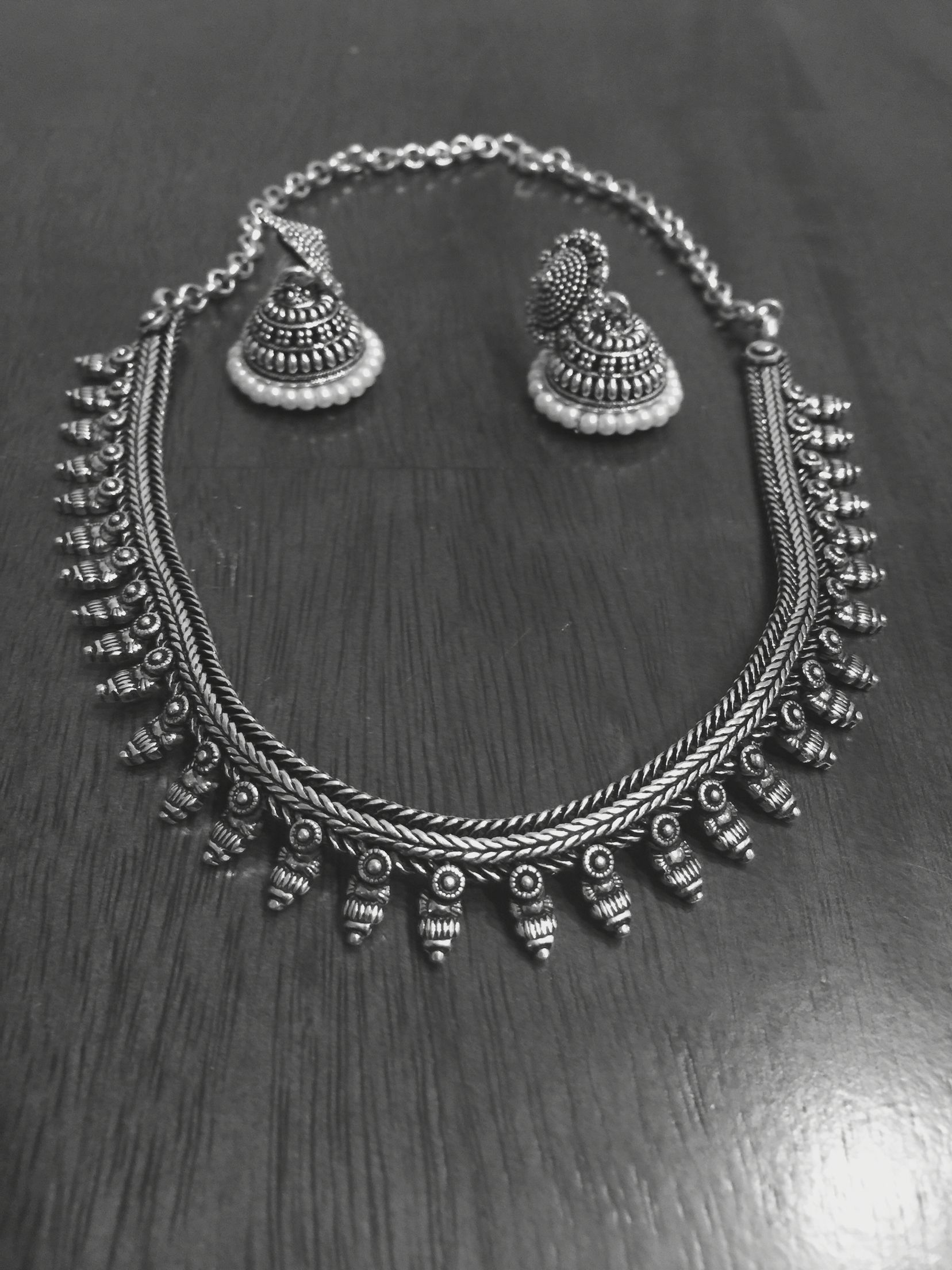 Silver Indian jewelry | Saree , blouses and jewelry | Pinterest ...