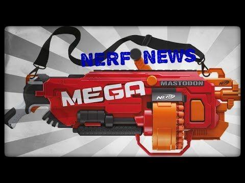 z NERF N-Strike Elite Centurion MEGA Blaster