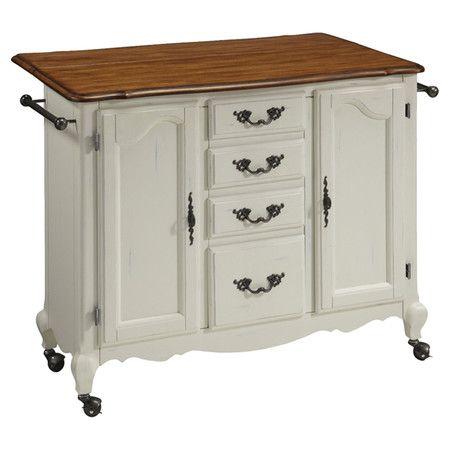 Kitchen Island Rolling Kitchen Cart With 2 Cabinets 4 Storage