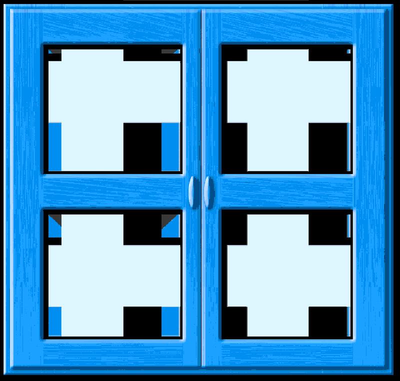 Window Blue Closed Frame Wood Window Frames Public Domain Wood Window Frame Window Frames Frame