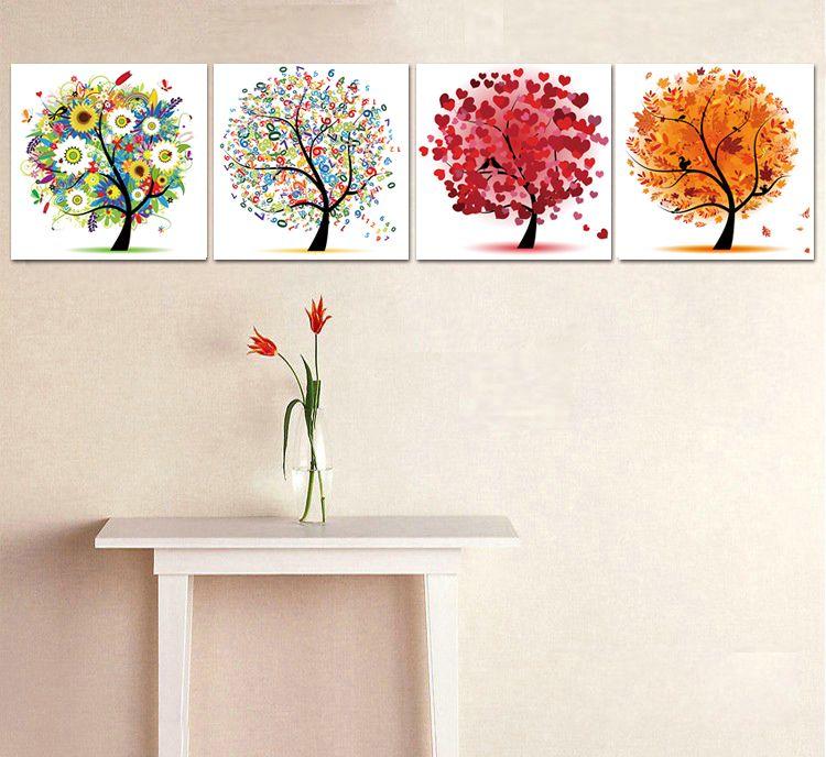 Cuadros decorativos para dormitorios modernos buscar con for Tipos de arboles decorativos