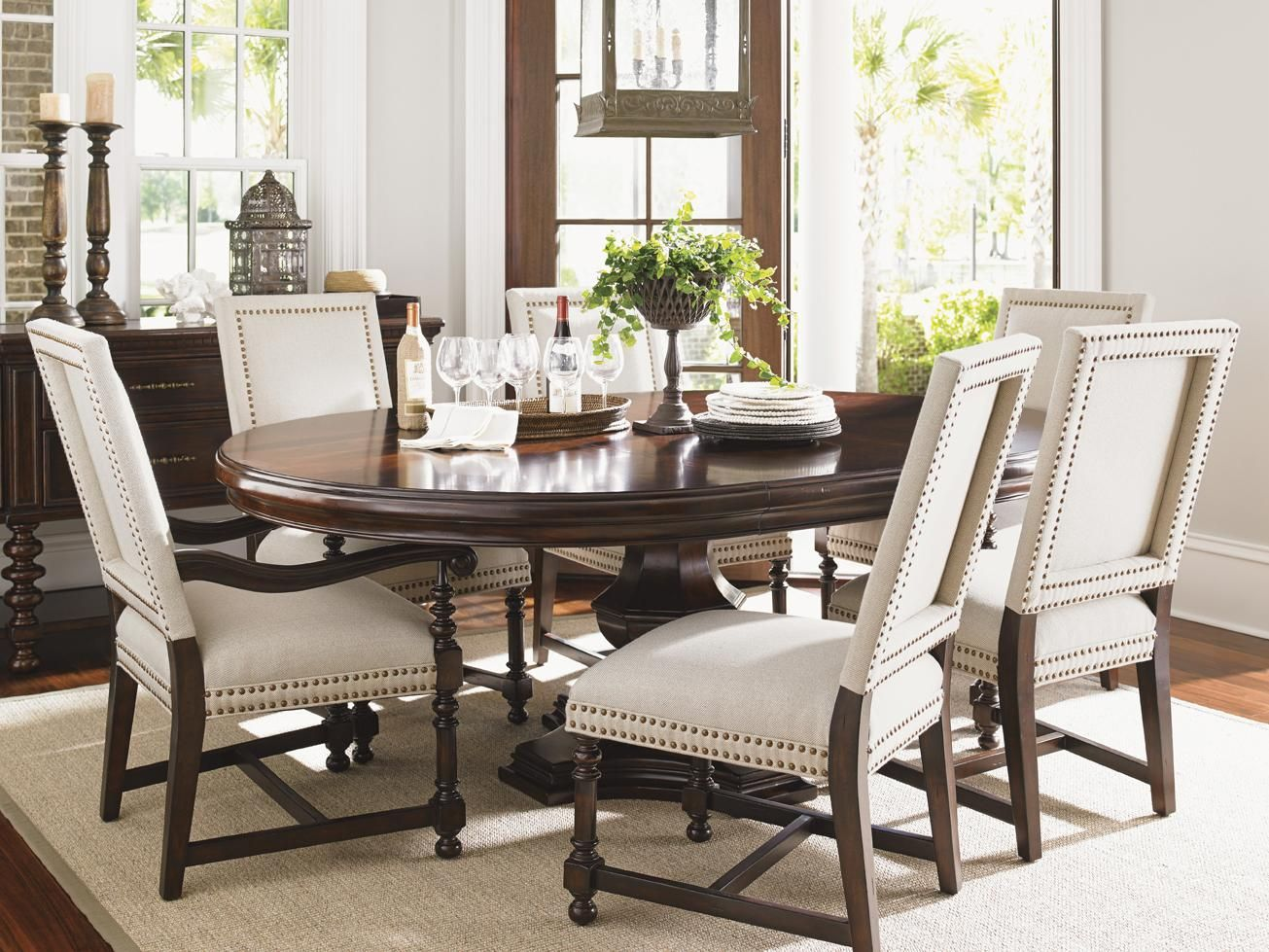 Tommy Bahama Home Kilimanjaro Maracaibo Dining Table Baer S Furniture Dining Room Table Boca Raton Naples Sarasota Ft Mye With Images Dining Room Sets Dining Chairs