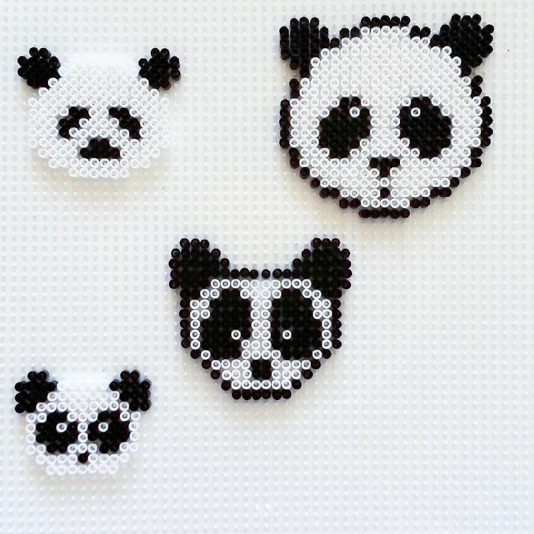 Pandas hama beads by sukihandmade | PERLER BEADS | Pinterest ...