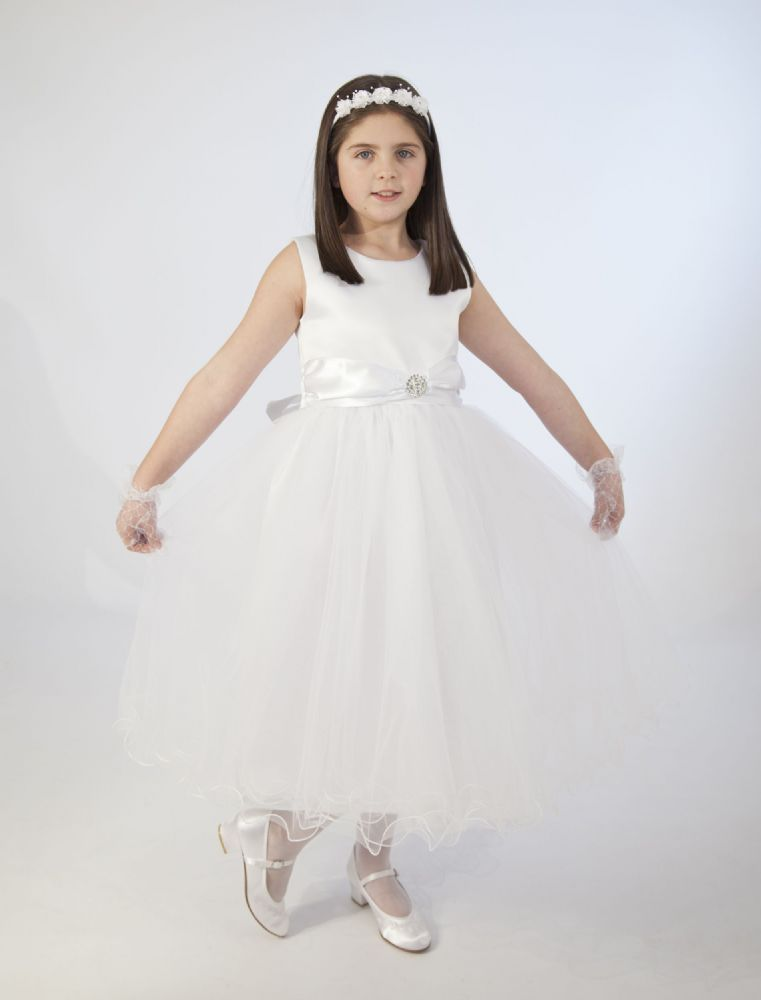 White Plus Size Communion Dresses Tara Lee Plus Size Communion