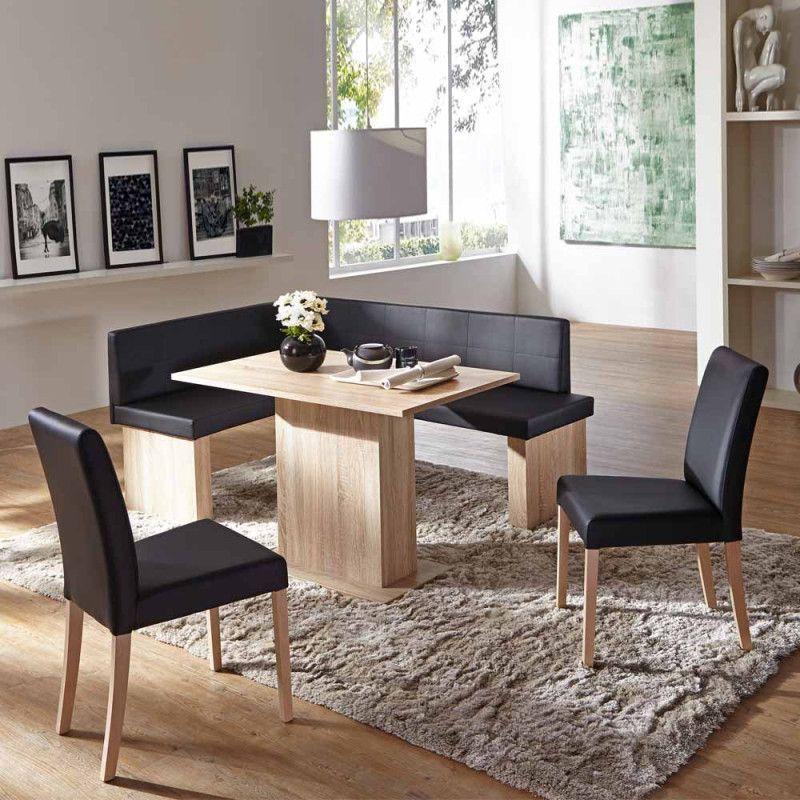 Esszimmer Sitzgruppe Mit Eckbank Schwarz Nabelle Wohnen De In 2020 Dining Chairs Home Decor Coffee Table