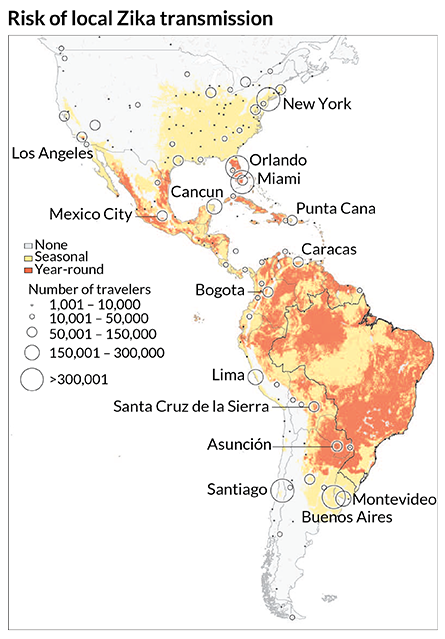 Rapid Spread Of Zika Virus In The Americas Raises Alarm Sign Of