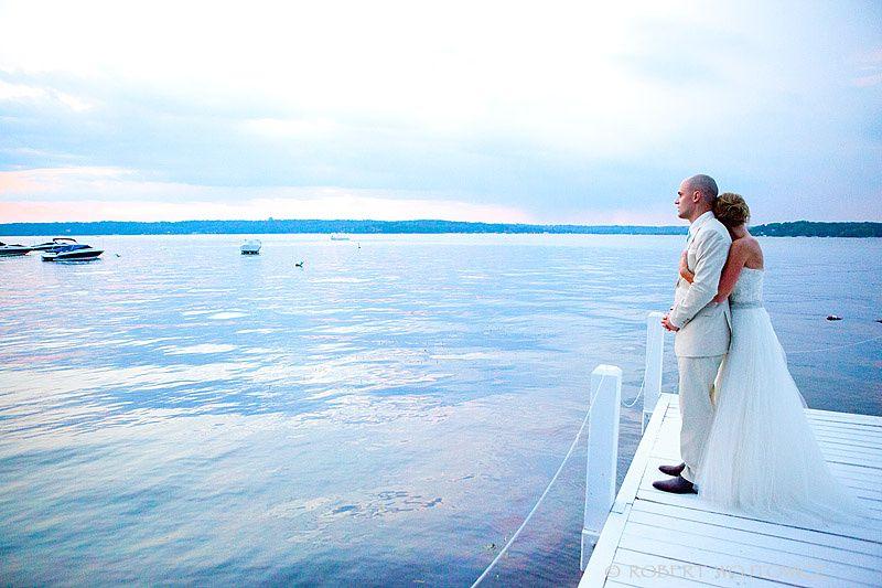 Caitlin & Andy Private Estate Lakeside Wedding Lake Geneva ...