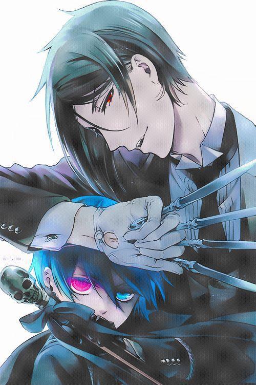 Ciel and Sebastian <3