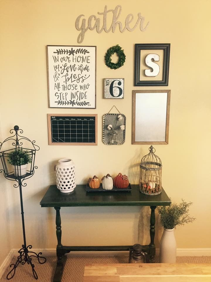 Gallery Wall & Command Center Farmhouse Decor Fixer Upper Style ...