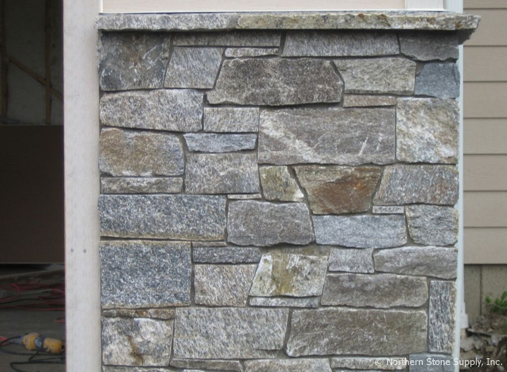 Natural Stone Wall Caps : Cap stone rocky mountain granite™ wainscot or window