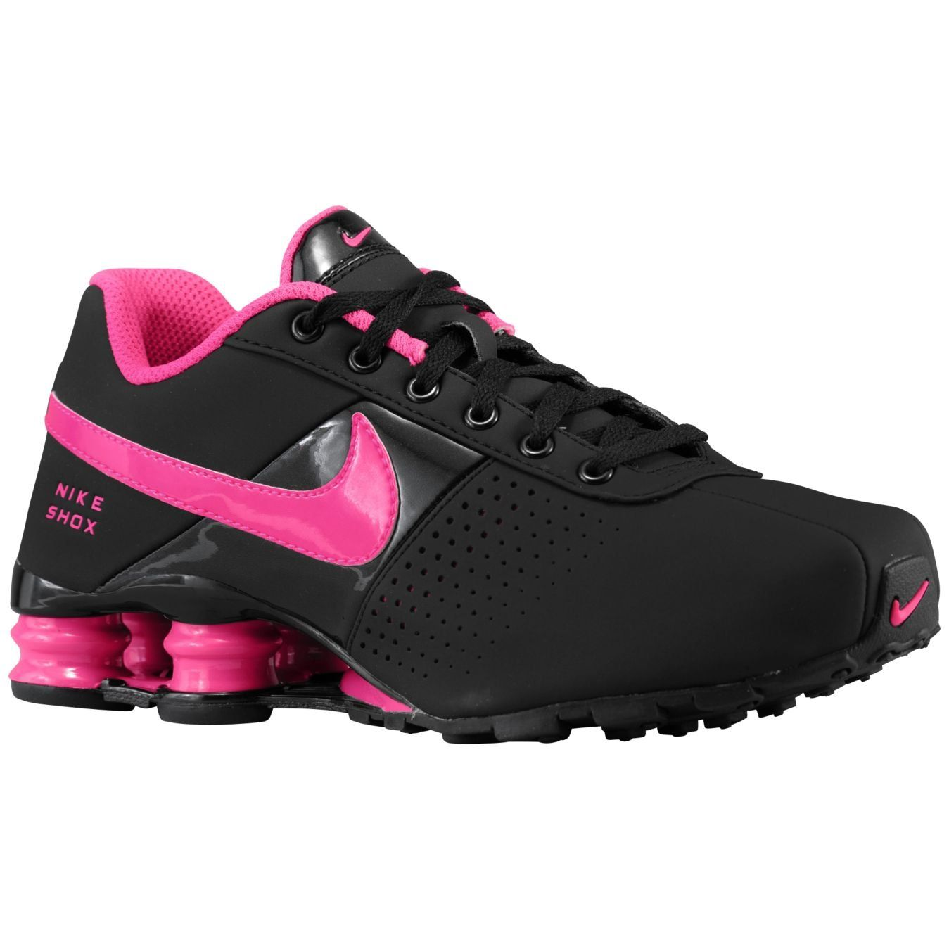 High Quality Nike Shox Deliver Hyper Pink Black Shox Nz Women S Athletic Running Shoes Nike Shox For Women Pink Nike Shoes Nike Shoes Cheap
