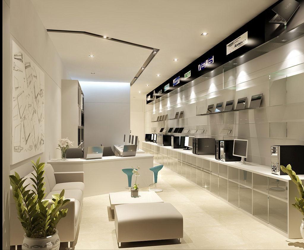 Interior Design, Nice Design Of Store Interior Design With Luxury ...