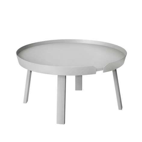 around coffe table large von muuto durchmesser 72 cm h he 37 5 cm 499 euro couchtisch. Black Bedroom Furniture Sets. Home Design Ideas