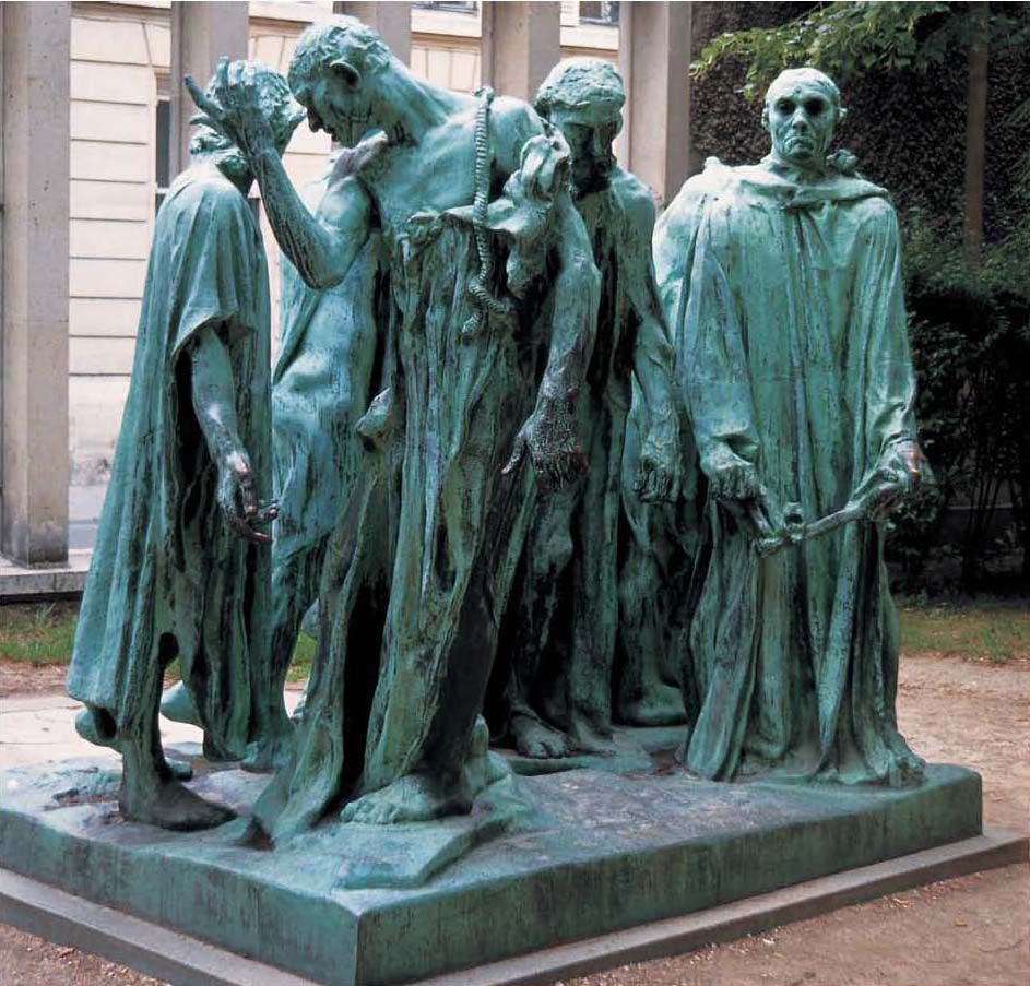 The Burghers Of Calais Rodin