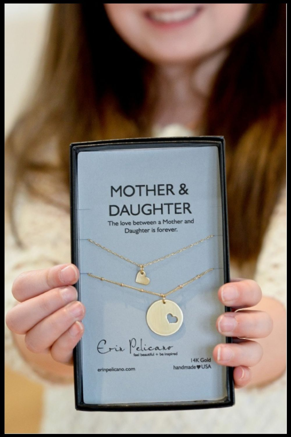 Erin Pelicano | Mom Necklace + Personalized Jewelry in 2020 | Diy