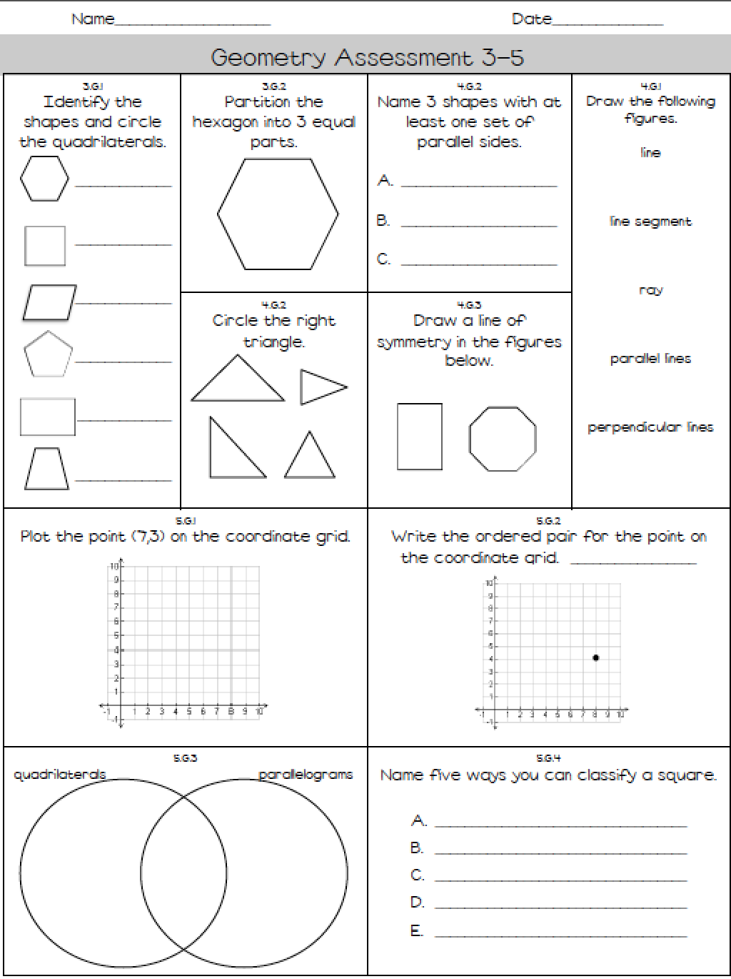 K 5 Math Assessments See Exactly What Your Kids Know And