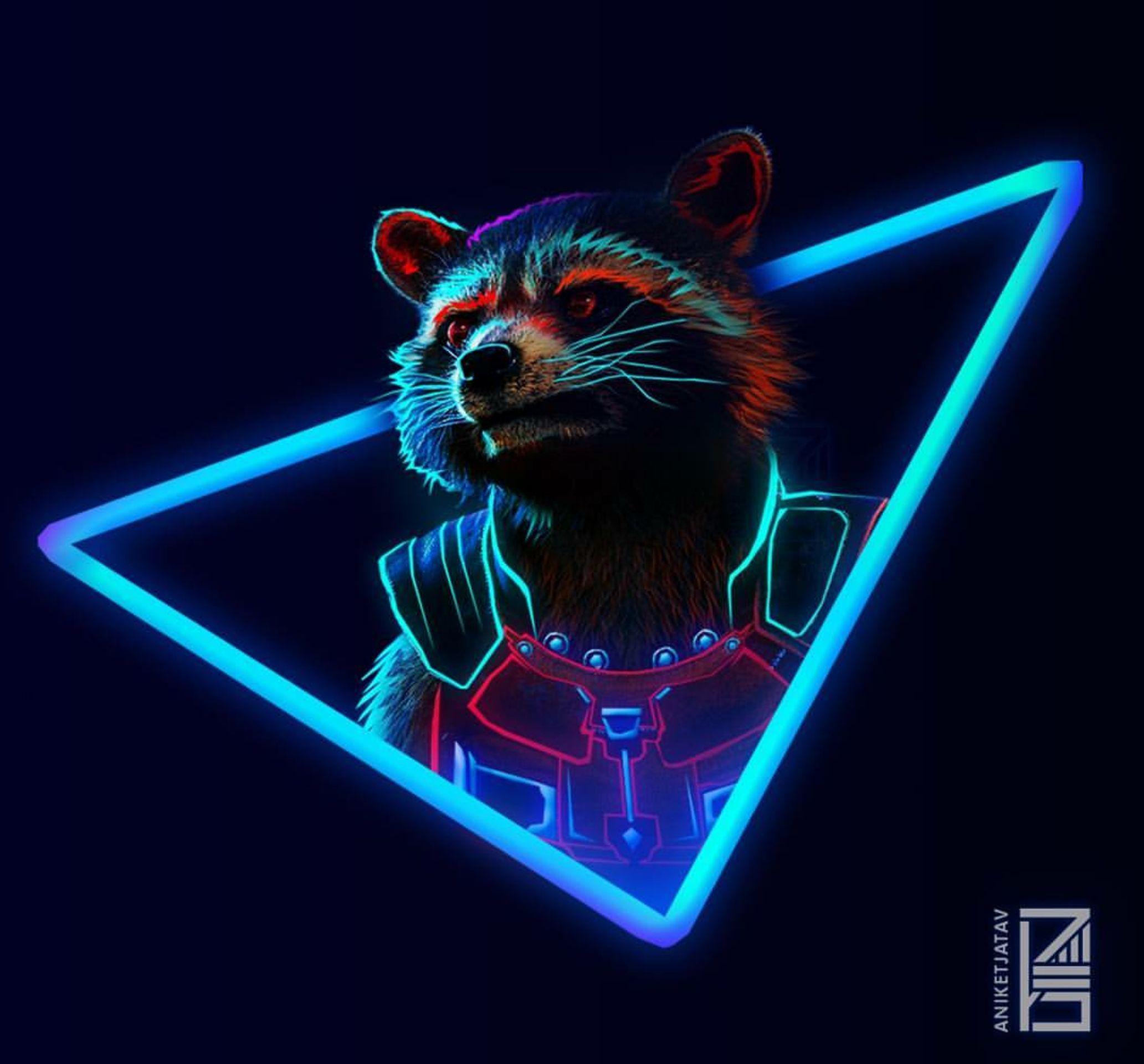Neon Rocket (Made By @Aniketjatav)