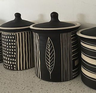 Dotti Potts Pottery-Pottery, fashion jewellery, earrings and rings | Africa Modern Collection