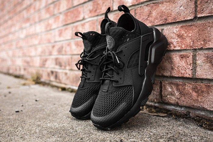 NIKE AIR HUARACHE ULTRA BR (TRIPLE BLACK) | Nike air
