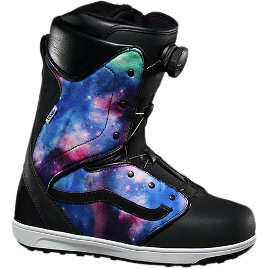 1aaf054463 Vans - Encore Boa Snowboard Boot - Women s - Galaxy Black