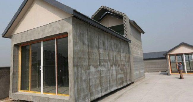 Une maison imprimée en 3D pour un montant de 3 500 euros