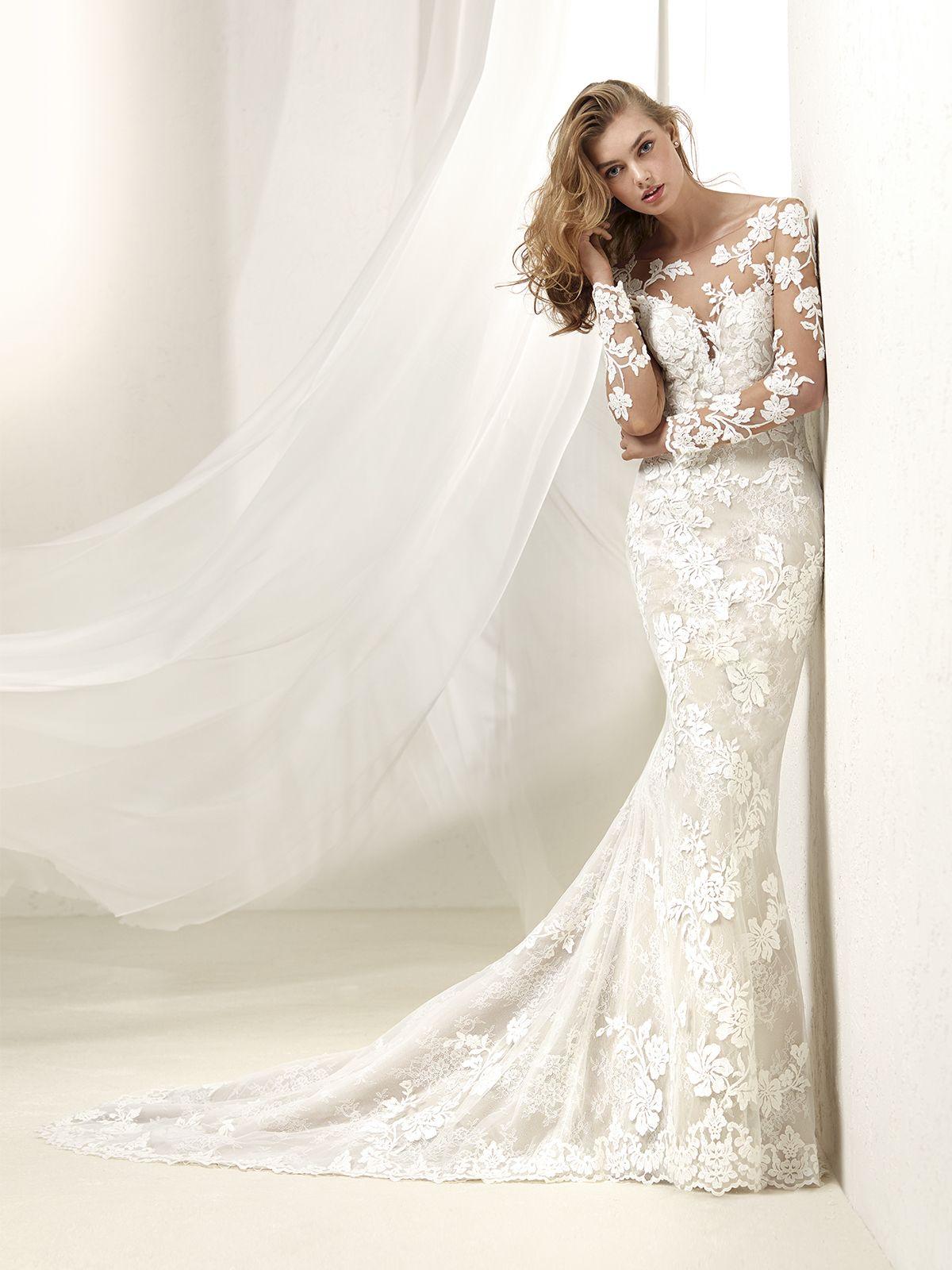 5400e305f Vestido de Novia de Pronovias (DRAFNE)