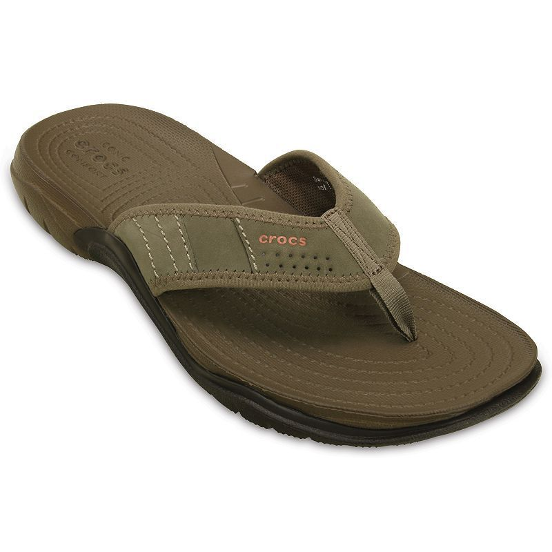 2b9b1f2d3fa97a Crocs Swiftwater Men s Water-Resistant Flip-Flops